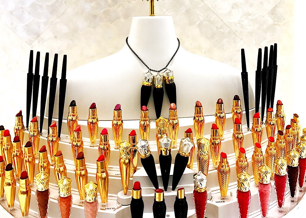 christian louboutin makeup - lipsticks