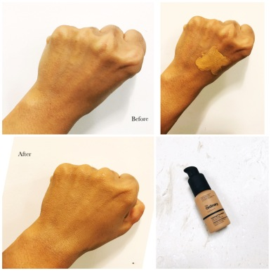 The Ordinary Foundation - Before and After pics